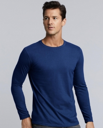 T-shirt uomo maniche lunghe Gildan Softstyle®