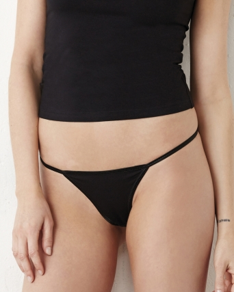 Tanga Bikini in cotone spandex