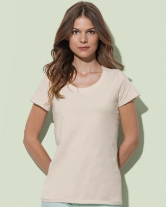 T-shirt girocollo donna Janet
