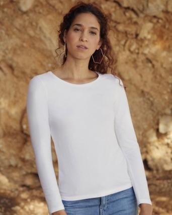 T-shirt Ladies Valueweight LS